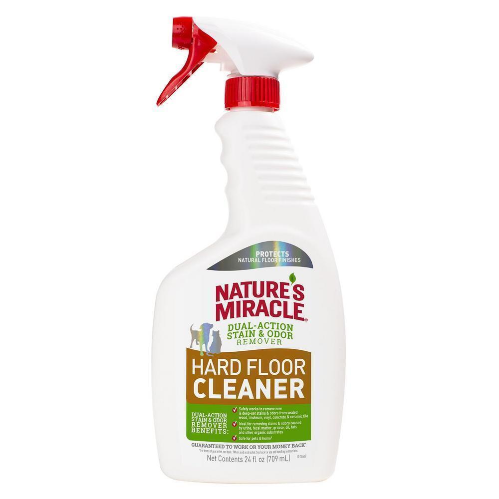 Nature's Miracle Средство для всех видов полов, удаляет пятна и запахи от животных, 709 мл (спрей)  #1