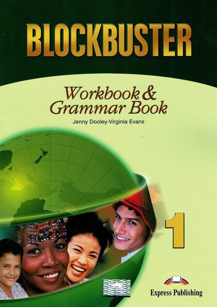 Blockbuster 1 Workbook & Grammar Book Beginner Рабочая тетрадь и грамматический справочник  #1