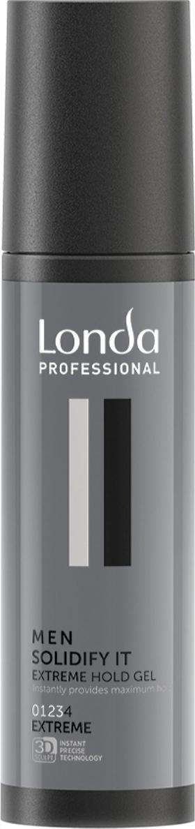 цена на Гель для волос Londa Professional Soldify It для экстремальной фиксации, 100 мл