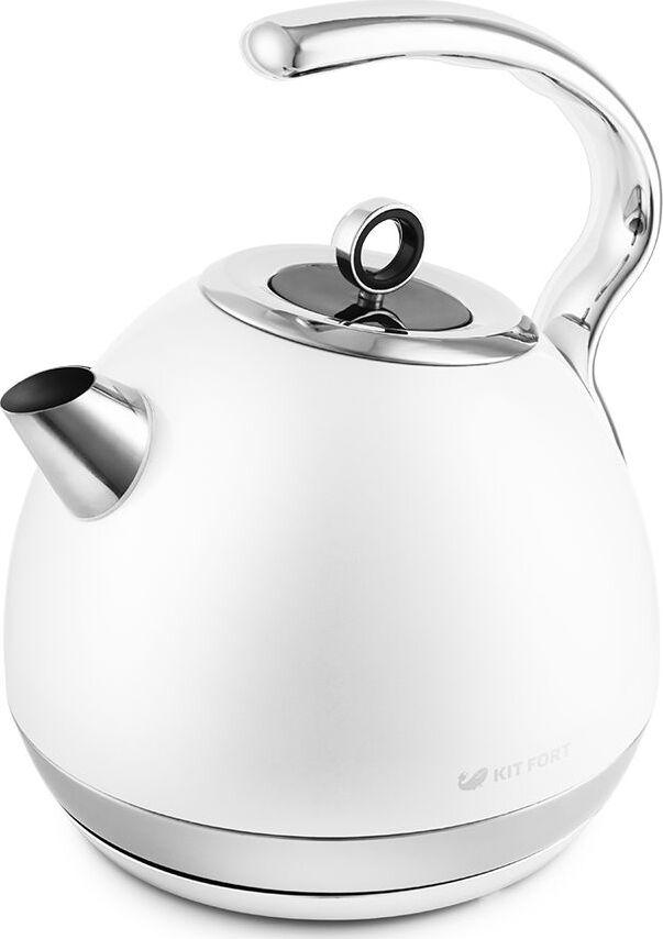 Электрический чайник Kitfort КТ-665-3, белый