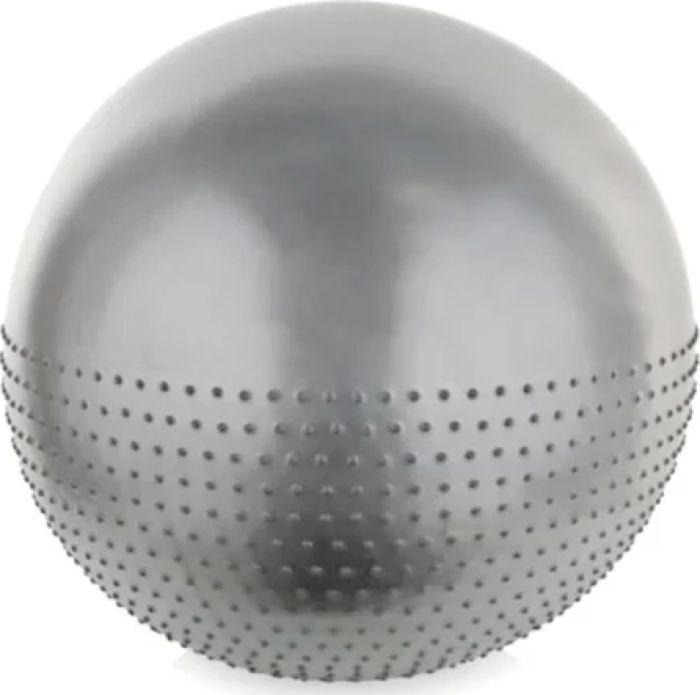 Мяч гимнастический Iron People IR97403C, антиразрыв, серый, 65 см