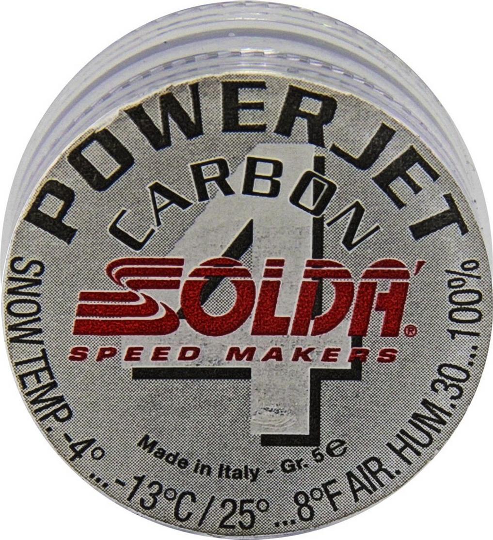 Фторовая спрессовка Solda Power Jet 4 Carbon, 0738, 5 г