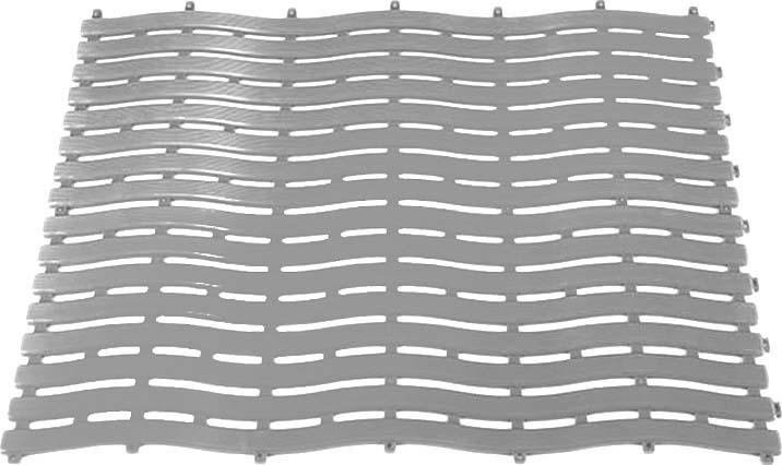 Коврик-дорожка для бани Банная линия New Wave, 39-641, серый, 0,6 х 12 м