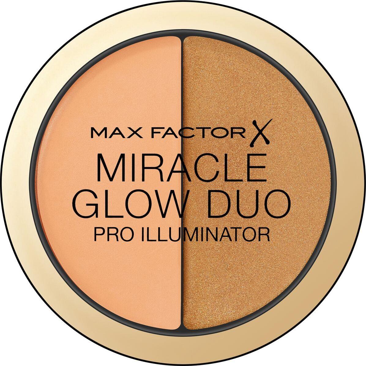 Max Factor Хайлайтер Miracle Glow Duo, тон №30 deep ellis faas пудра хайлайтер glow up s503 deep glow