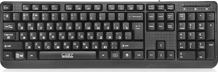 Клавиатура CBR KB 103, USB, чёрная.