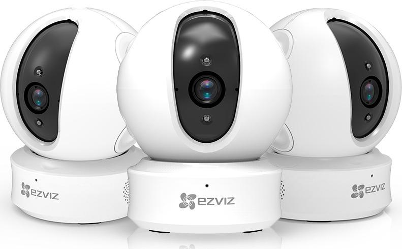 Поворотная Wi-Fi камера EZVIZ C6C