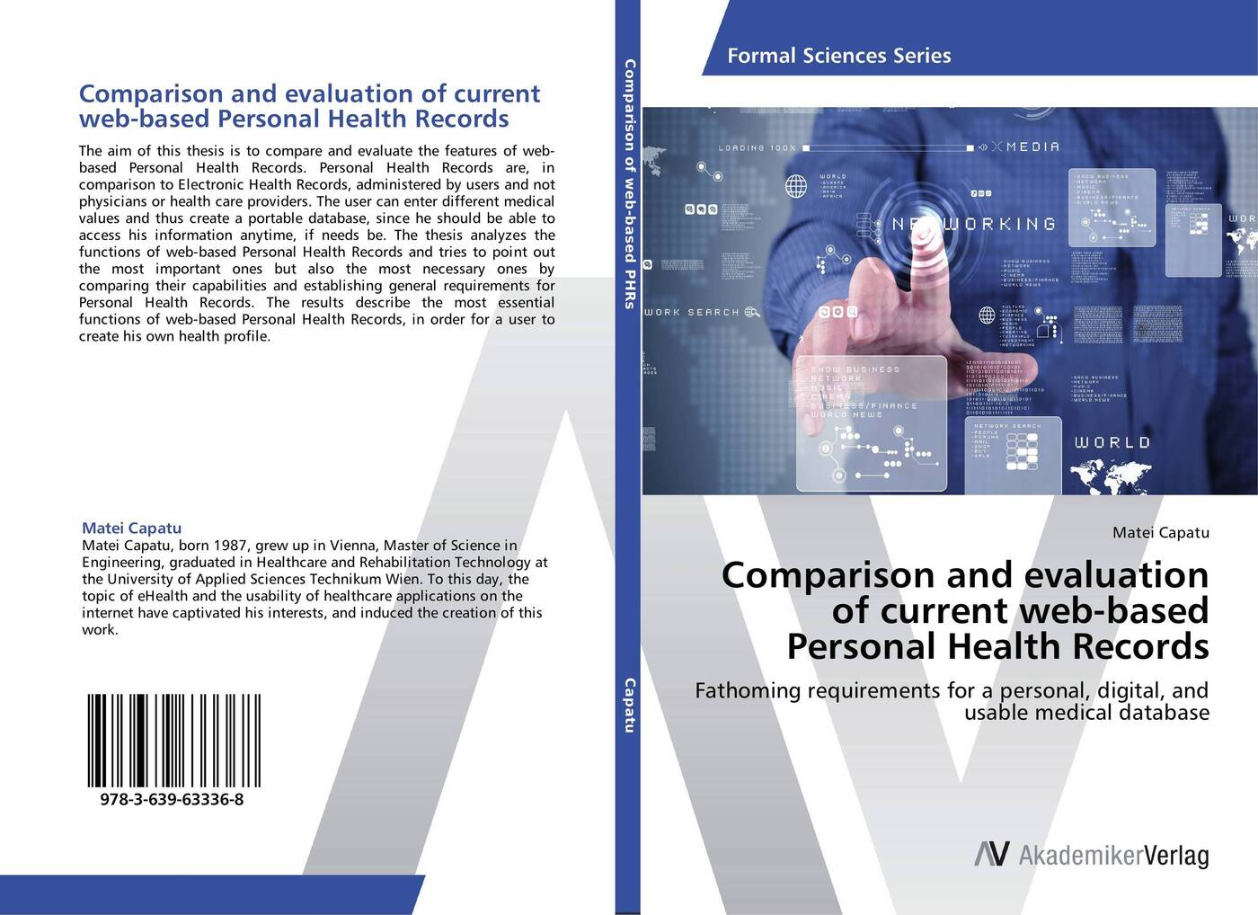 Matei Capatu Comparison and evaluation of current web-based Personal Health Records electronic health records and medical big data