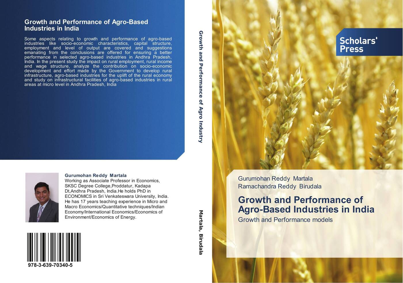 Gurumohan Reddy Martala and Ramachandra Reddy Birudala Growth and Performance of Agro-Based Industries in India socio economic determinants of performance of smes