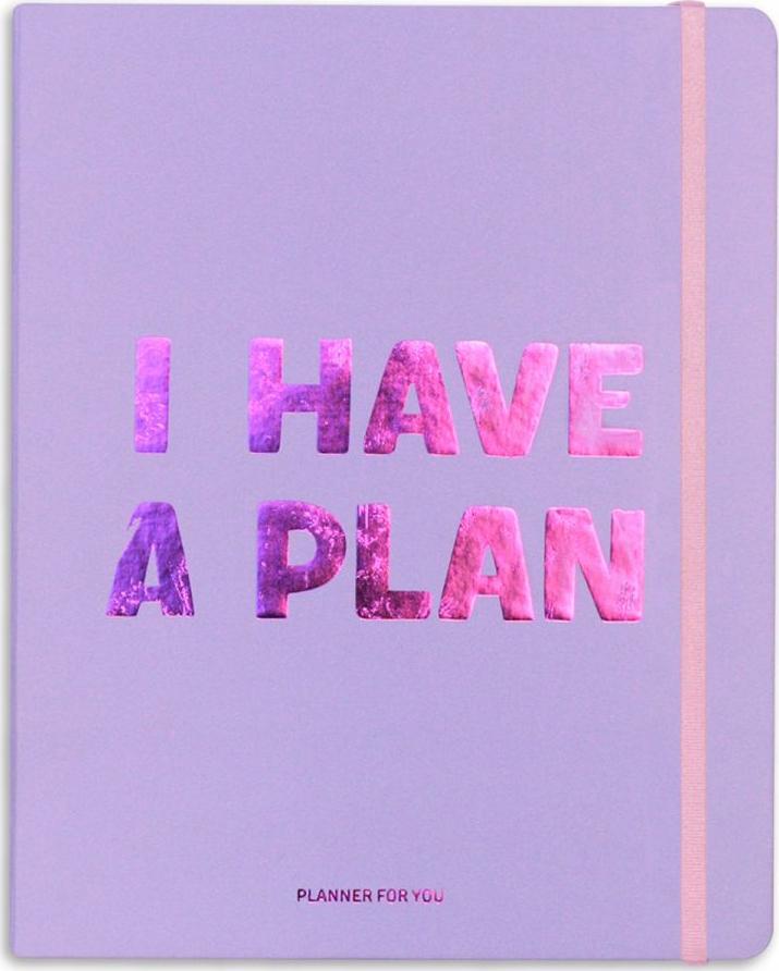 Планер I HAVE A PLAN лавандовый