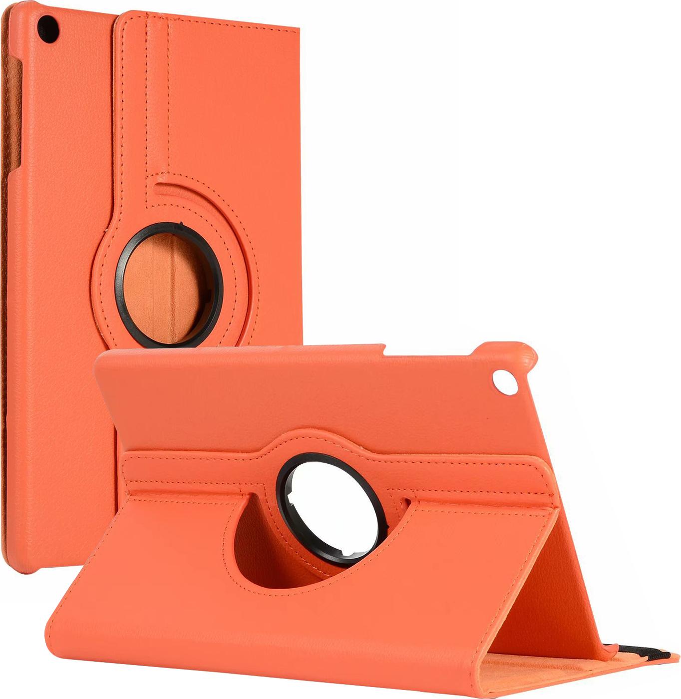 Чехол-подставка MyPads для Apple iPad 2/3/4 на пластиковой основе кожаный поворотный роторный оборотный с трансформацией в подставку оранжевый