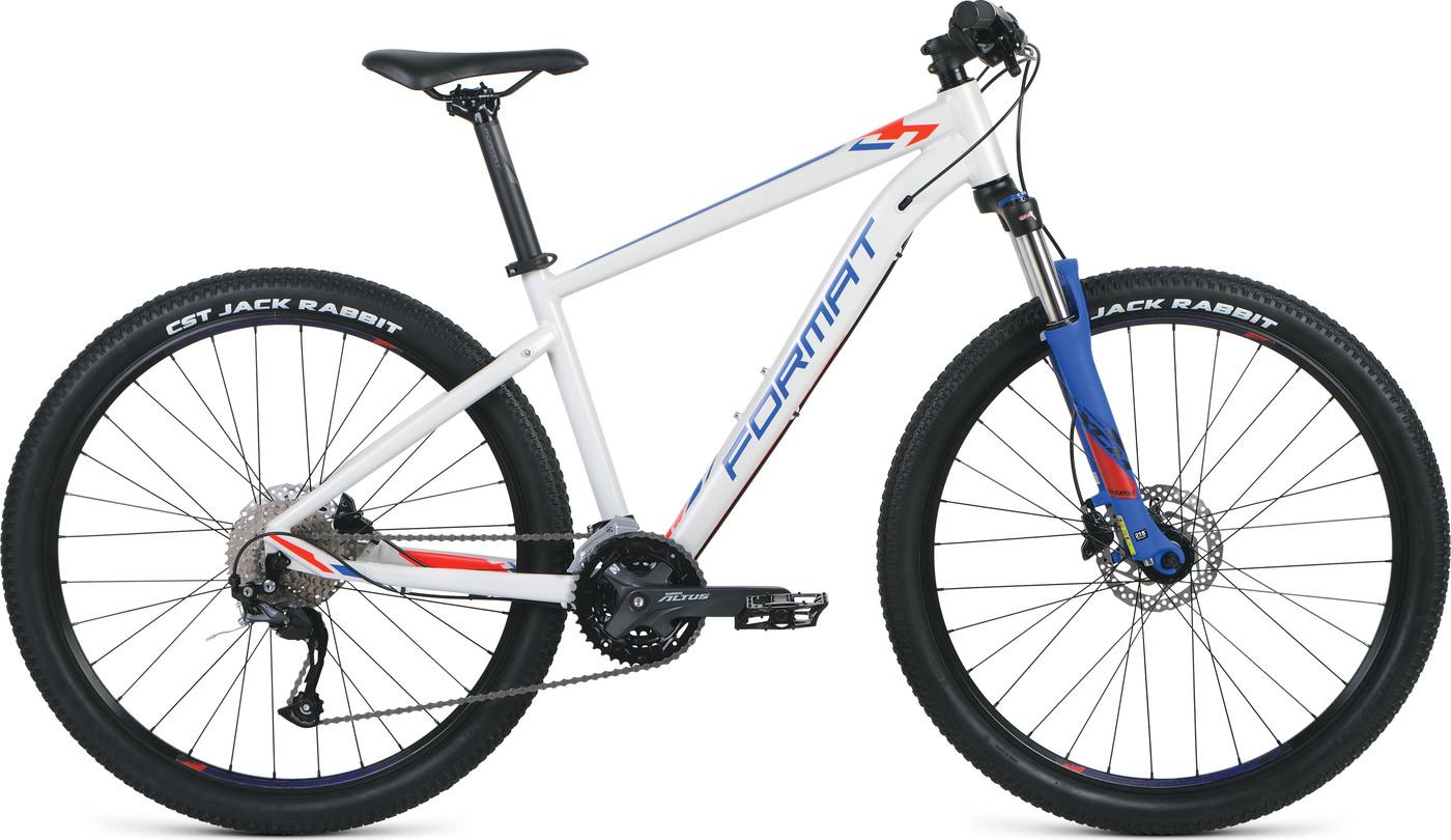 Велосипед FORMAT 1412 27.5 2019 20 белый-матовый