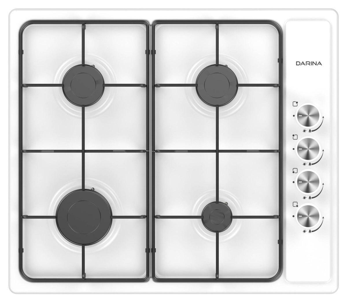 Варочная панель Darina T1 BGM341 11 X, газовая встраиваемая DARINA