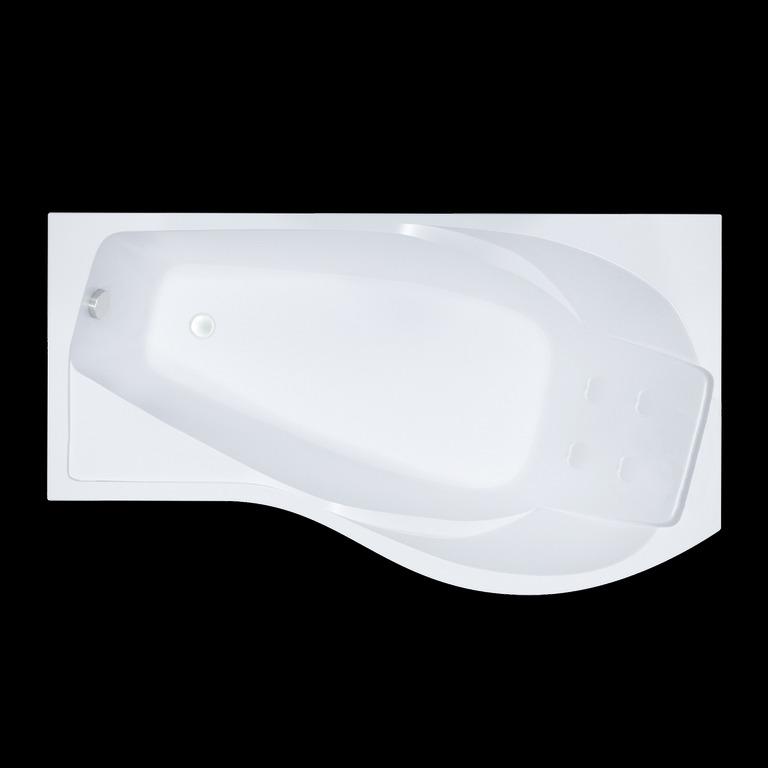 Акриловая ванна Triton Мишель 170x96 асимметричная левая