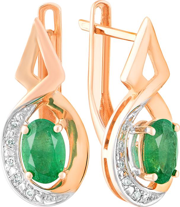 золотые серьги с зеленым камнем картинки краски подходят