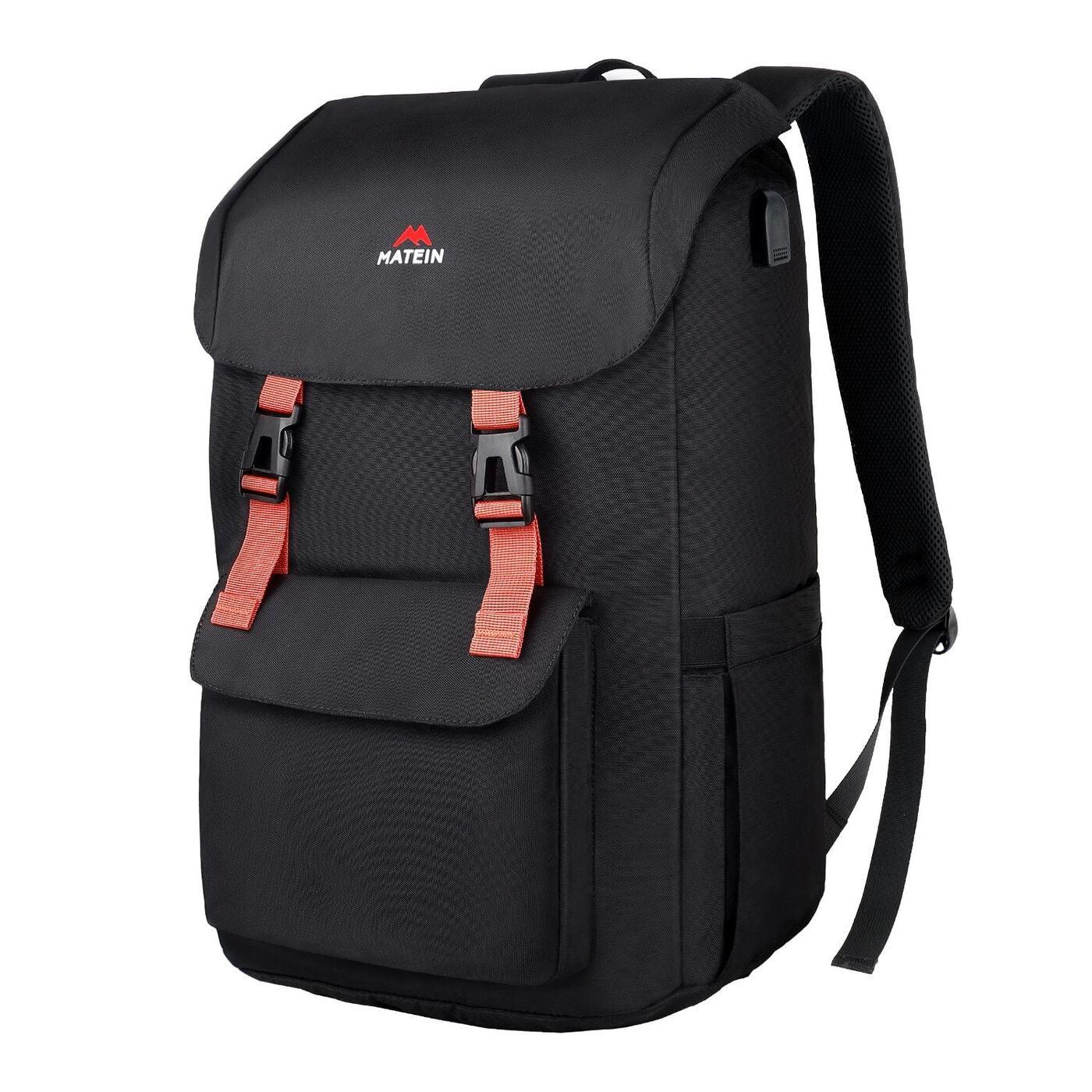 "Рюкзак для ноутбука Matein Super backpack, 17"", черный"