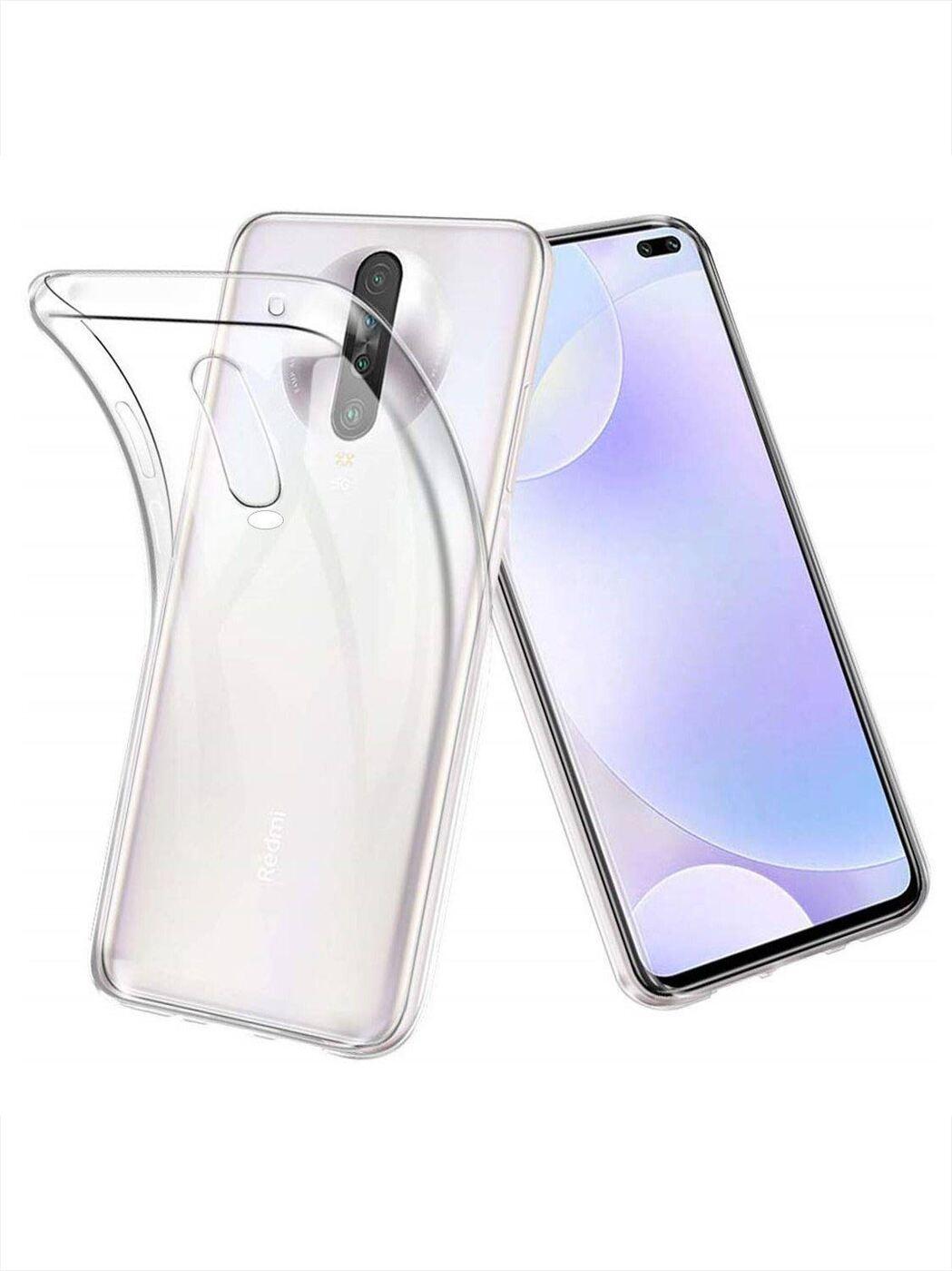 Чехол силиконовый для Xiaomi Redmi K30, прозрачный