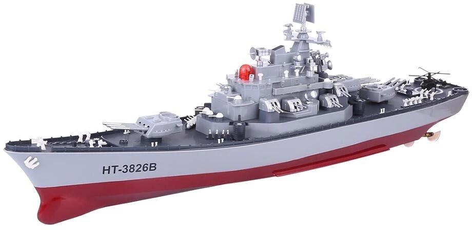 Радиоуправляемый корабль Heng Tai линкор Ямато 1:250 2.4G - HT-3826B
