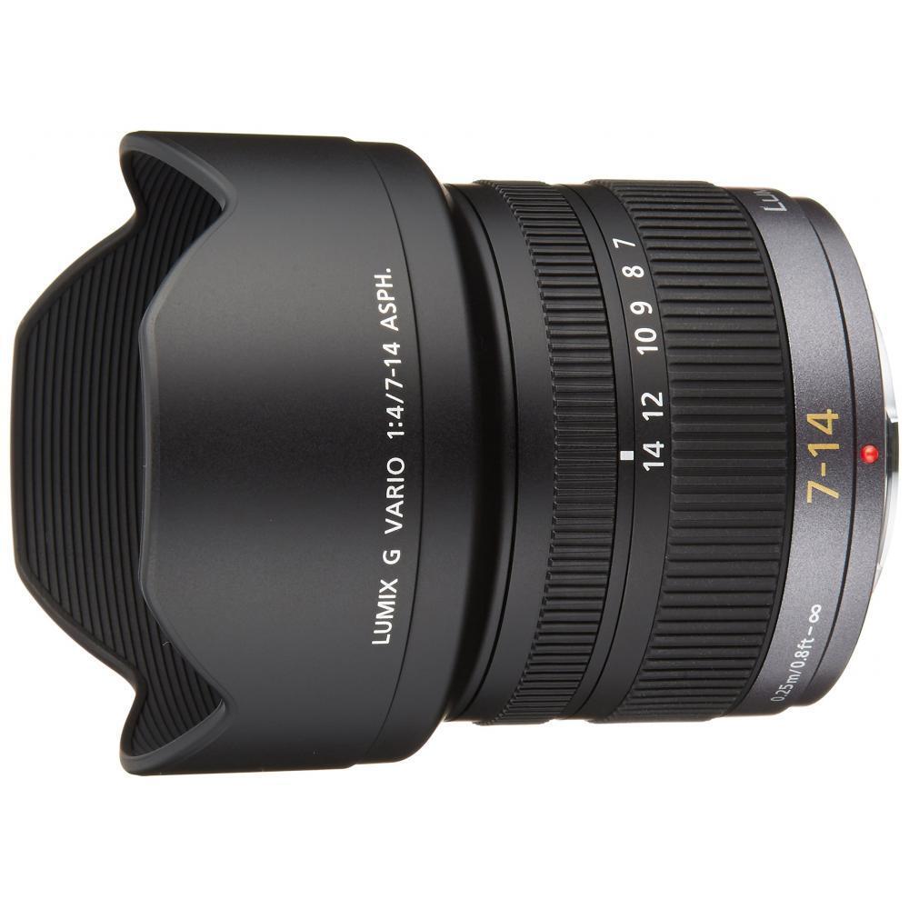 Lumix Panasonic wide-angle zoom lens Micro Four Thirds G VARIO 7-14mm / F4.0 ASPH. H-F007014