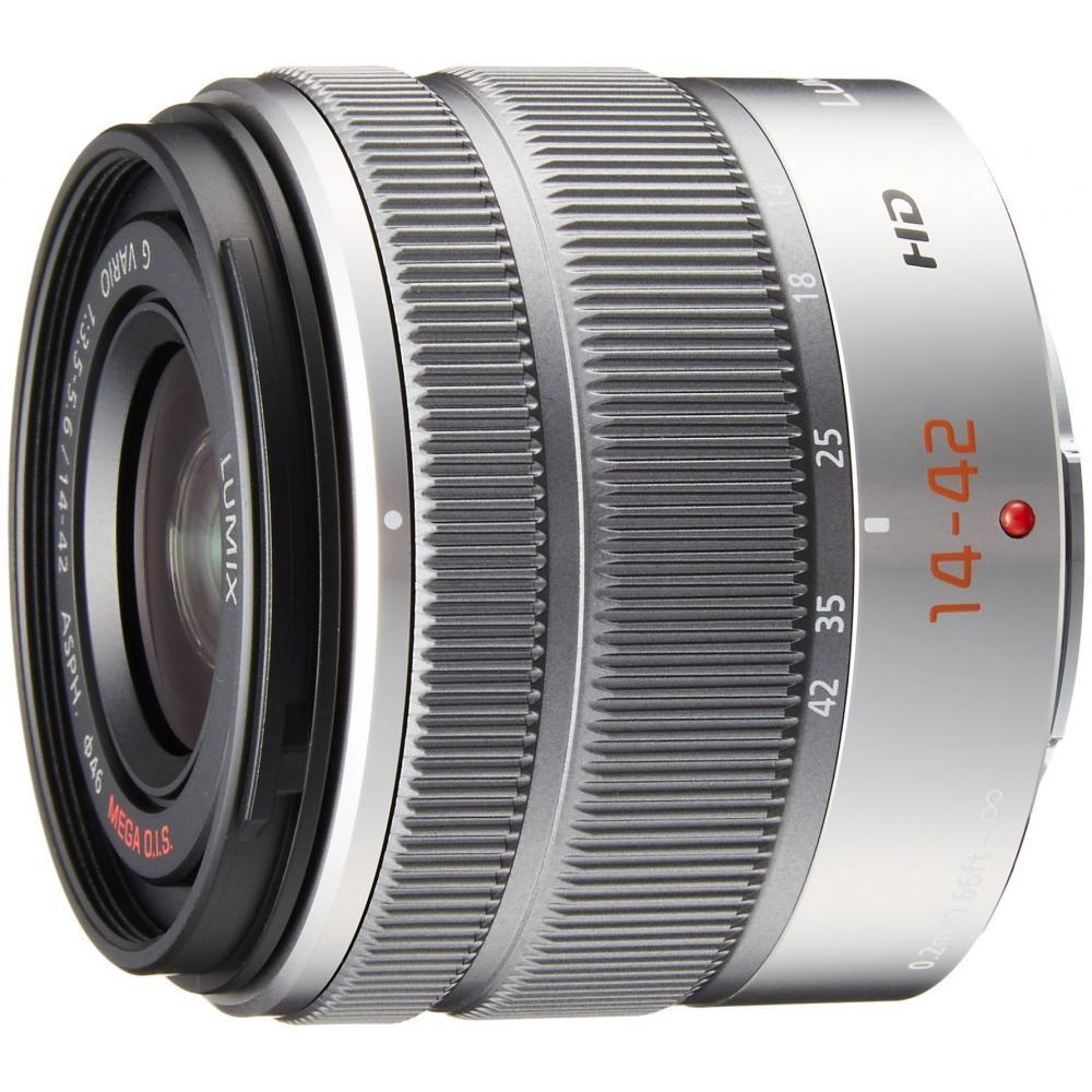 Lumix Panasonic standard zoom lens Micro Four Thirds G VARIO 14-42mm / F3.5-5.6 II ASPH./MEGA O.I.S