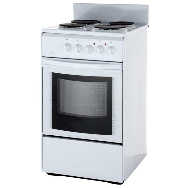 Flama Электрическая плита (50-55 см)  AE 1402 White