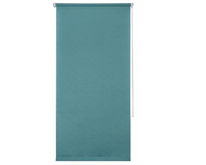 Штора рулонная, 40х160 см, цвет голубой-20711
