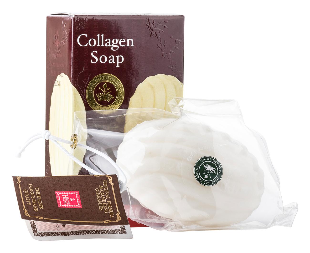 Madame Heng Мыло Коллагеновое антивозврастное для умывания и снятия макияжа Collagen Soap