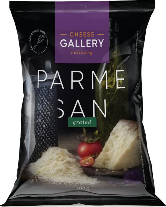 Cheese Gallery Сыр Пармезан, 32%, гранулы, 100 г #1