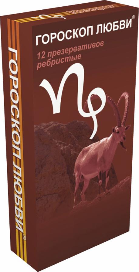 презервативы, Гороскоп любви, 386,  Козерог 12 шт #1