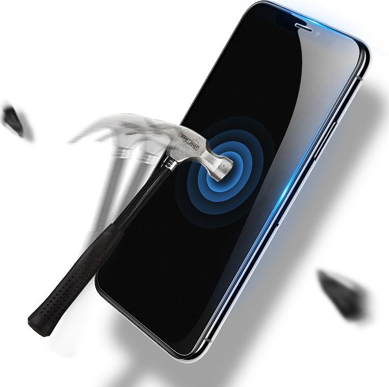 Защитное противоударное стекло MyPads на Moto G7 Power с олеофобным покрытием  #1