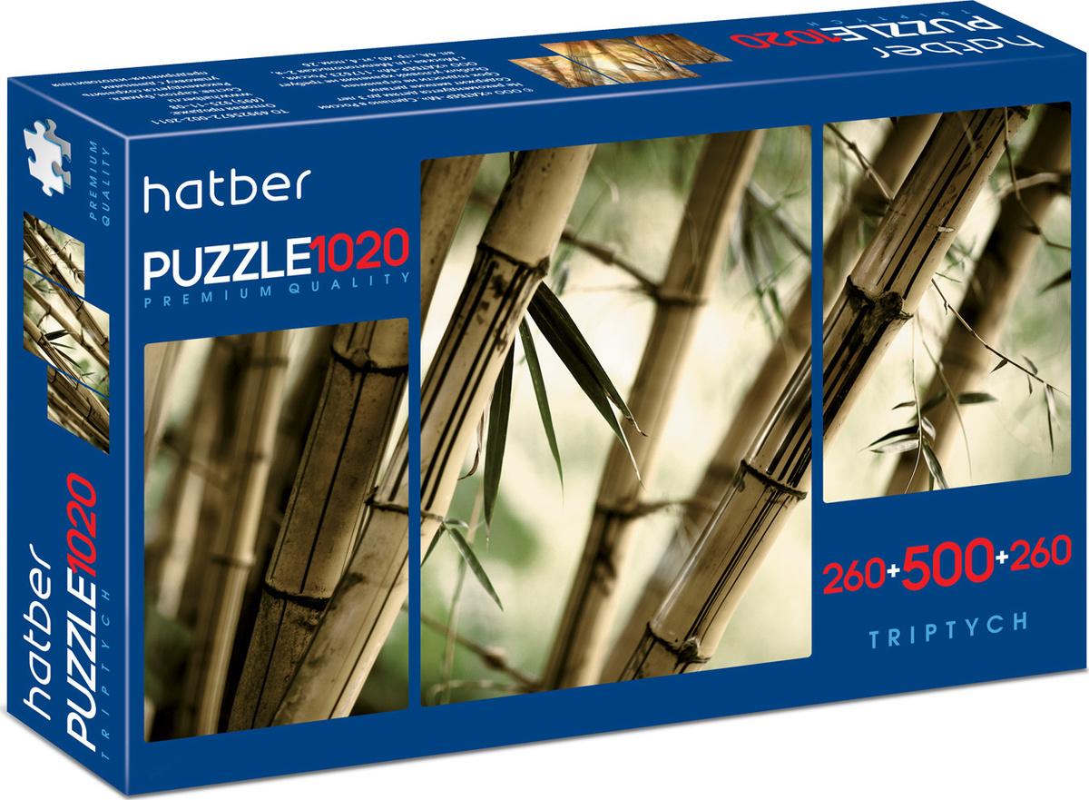 """Пазл Hatber premium """"Бамбуковый лес"""" 260+500+260 элементов 680х450 мм #1"""