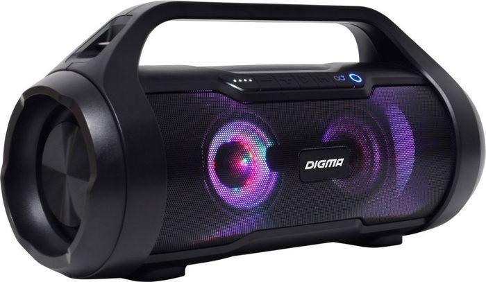 Портативная акустическая система Digma S-34, черный #1