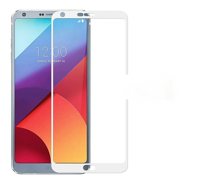 3D/ 5D защитное стекло MyPads для LG G6 (H870DS) с закругленными изогнутыми краями которое полностью #1