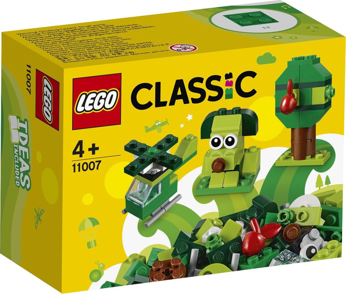 Конструктор LEGO Classic 11007 Зелёный набор для конструирования  #1