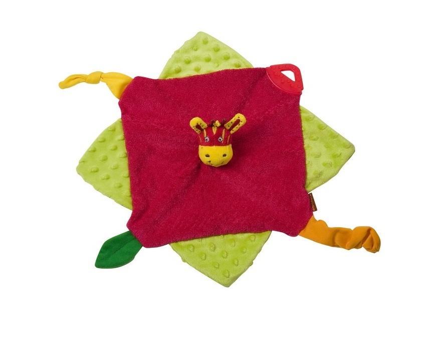 Мягкая игрушка BabyMoov Кукольный театр Зебра А106302 #1