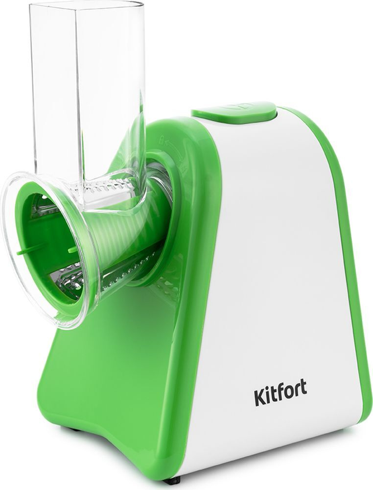 Измельчитель электрический Kitfort КТ-1385, белый, зеленый #1
