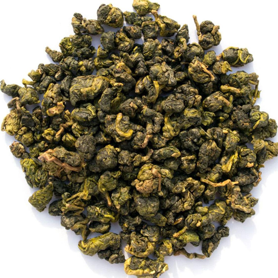 Настоящий Китайский Молочный Улун 200 г. Чай Зеленый Листовой Рассыпной Ceremony (Milk Oolong Green Tea, #1