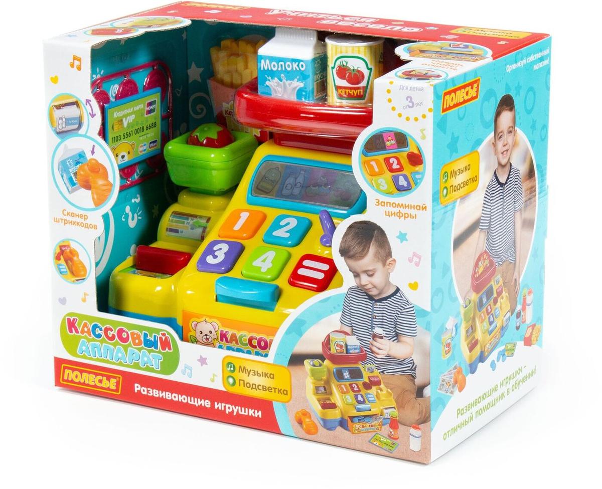 Развивающая игрушка Полесье Кассовый аппарат для супермаркета, 77073  #1