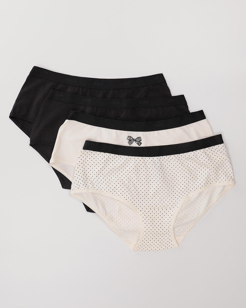 Комплект трусов  шортики Dim Les Pockets Coton Stretch #1