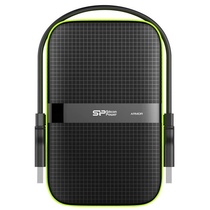 3 ТБ Портативный внешний жесткий диск Silicon Power A60 (SP030TBPHDA60S3K)  #1