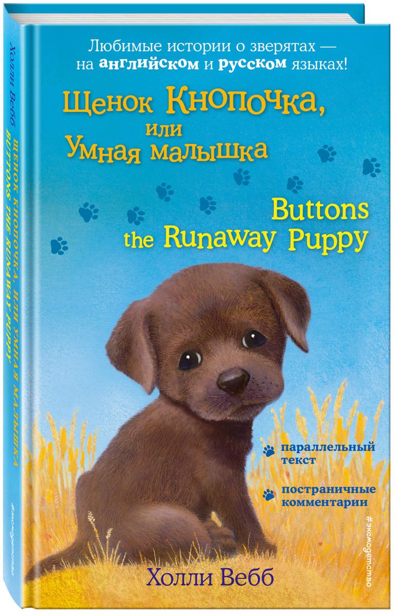 Щенок Кнопочка, или Умная малышка = Buttons the Runaway Puppy   Вебб Холли  #1