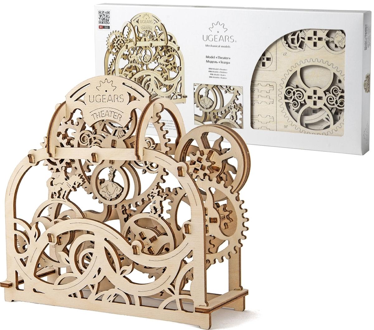 Ugears Деревянная модель Театр #1