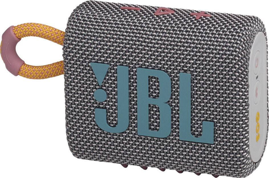 Портативная акустическая система JBL Go 3, серый #1