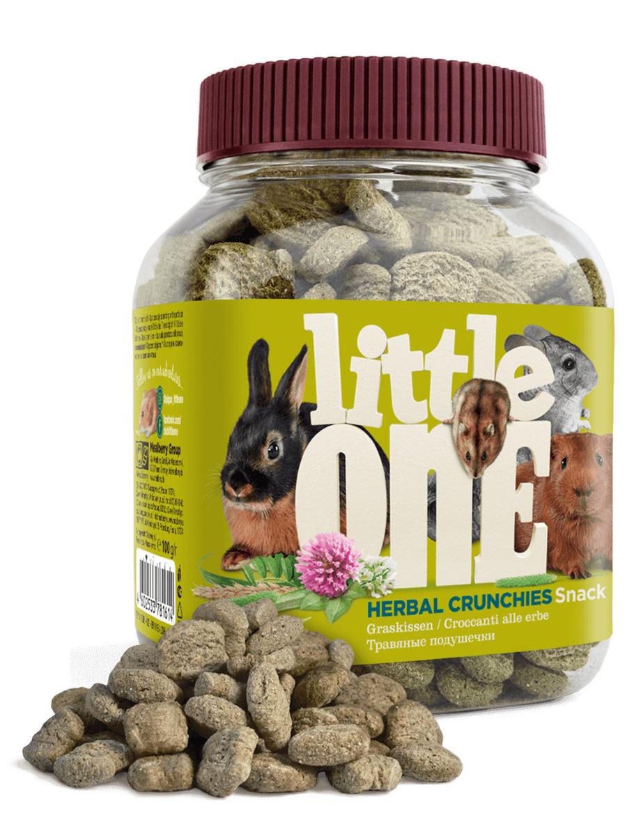 Little One Травяные подушечки - Лакомство для всех видов грызунов 100гр х 3 шт  #1