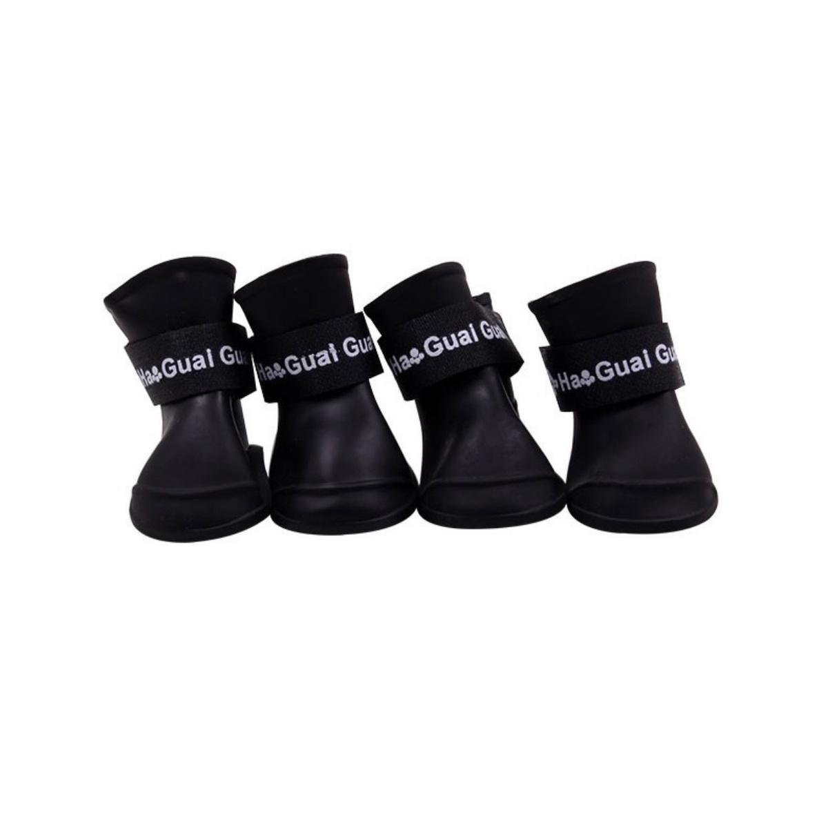 Полусапожки непромокаемые для собак GABYDOG черные, размер M  #1