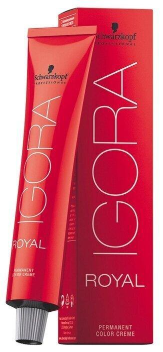 Schwarzkopf Professional Краска для волос Игора Роял 8-0 / Igora Royal 8-0 Светлый русый натуральный #1