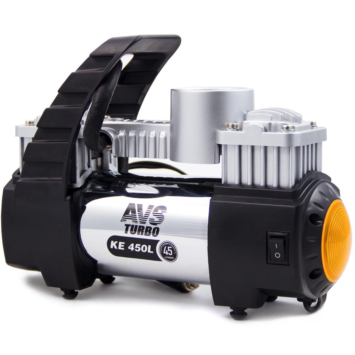 Компрессор автомобильный AVS KE450L A80978S #1