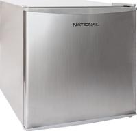Холодильник NATIONAL мини, 53 литра, с морозильной камерой, серебристый