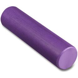 Массажный цилиндр INDIGO Foam roll IN022 Фиолетовый 60*15 см