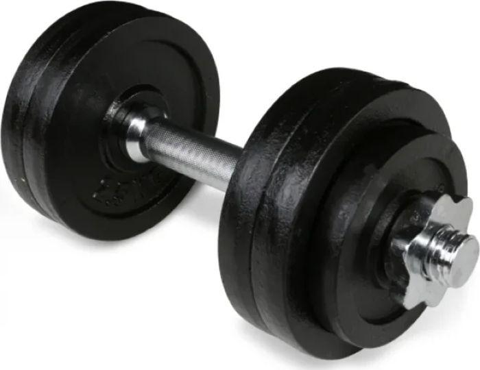 Гантель наборная Iron People IR92034, черный, 15 кг