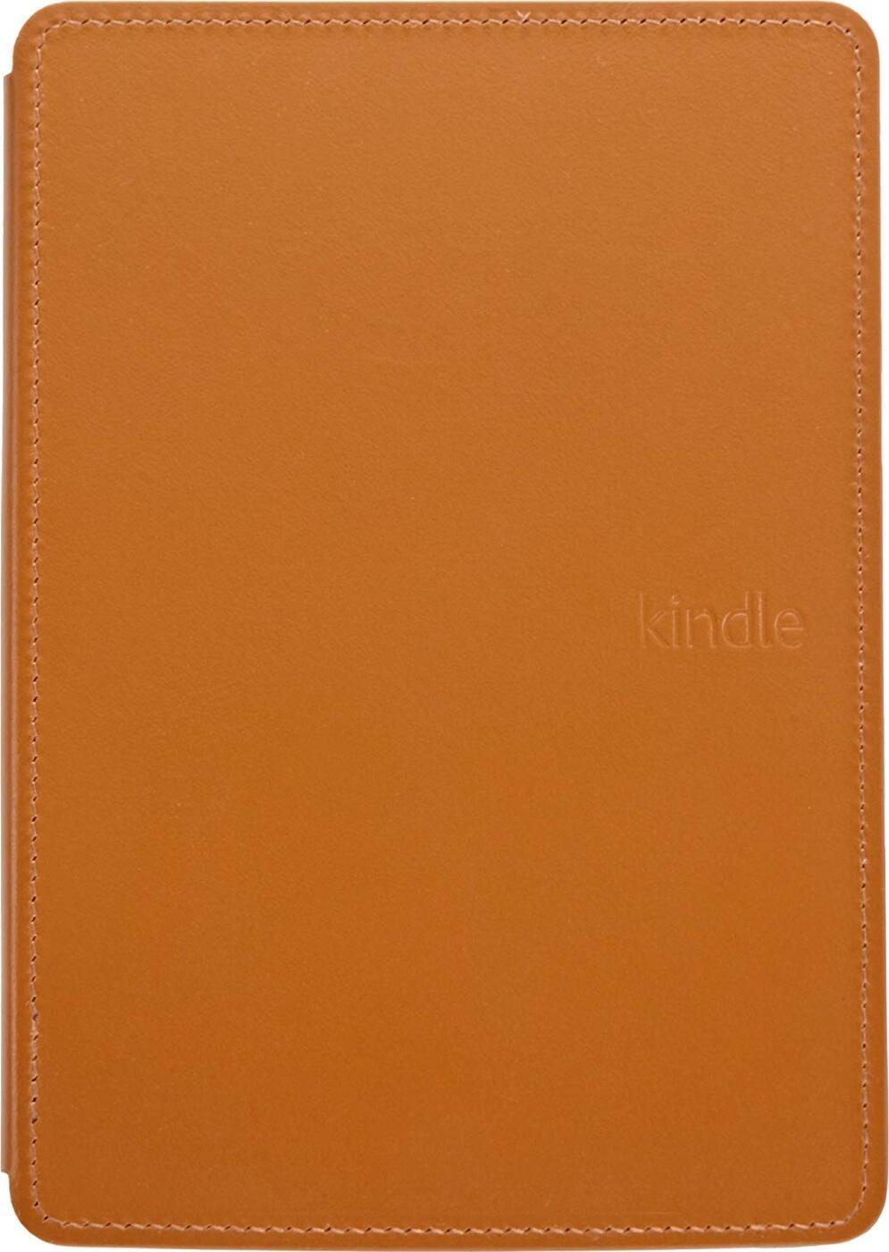 Чехол Amazon Leather Cover с подсветкой для Kindle 5, Оранжевый